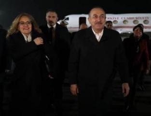 Türkiyə Xarici İşlər naziri Gürcüstanda rəsmi səfərdədir