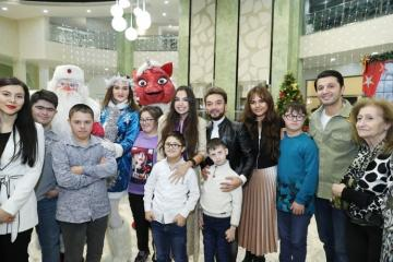 Vice-President of Heydar Aliyev Foundation Leyla Aliyeva attends festivities for children with down syndrome - [color=red]PHOTO[/color]