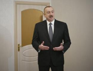 Иьхам Алиев: Прозрачность, честность, борьба с коррупцией и взяточничеством привносит большое оживление в нашу страну