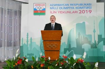Azerbaijani President Ilham Aliyev attended ceremony dedicated to 2019 sporting results - [color=red]UPDATED[/color]