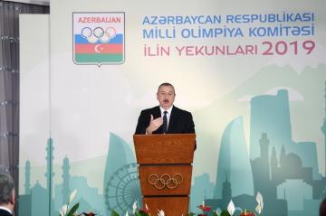 Президент: Уверен, что азербайджанские спортсмены достойно представят нашу родину на Олимпийских играх в Токио