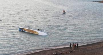 7 killed, 64 rescued after migrant boat sinks on eastern Turkey's Lake Van