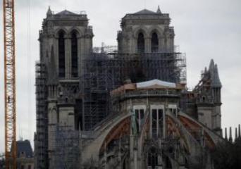 Notre-Dame restoration enters risky phase with scaffolding removal