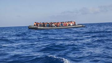 На озере Ван в Турции затонула лодка с мигрантами