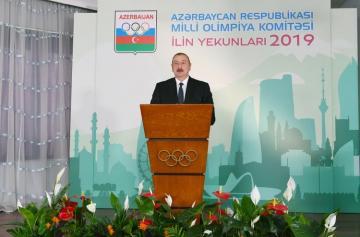 Ильхам Алиев: Ведущие международные спортивные структуры признают Азербайджан как спортивную страну