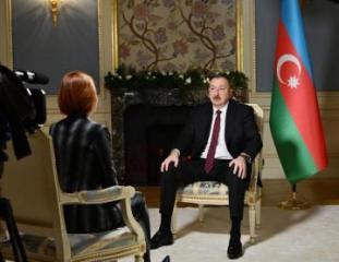 Президент Азербайджана дал интервью телеканалу «Россия-24»