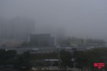 Sabah hava dumanlı, çiskinli olacaq