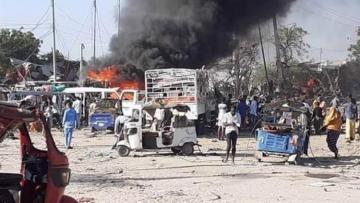 Somalidə terror aktı törədilib, 90-dan çox şəxs həlak olub