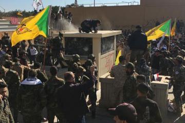 Bağdadda aksiyaçılar ABŞ səfirliyinin bağlanılmasını və qoşunlarının İraqdan çıxarılmasını tələb edir