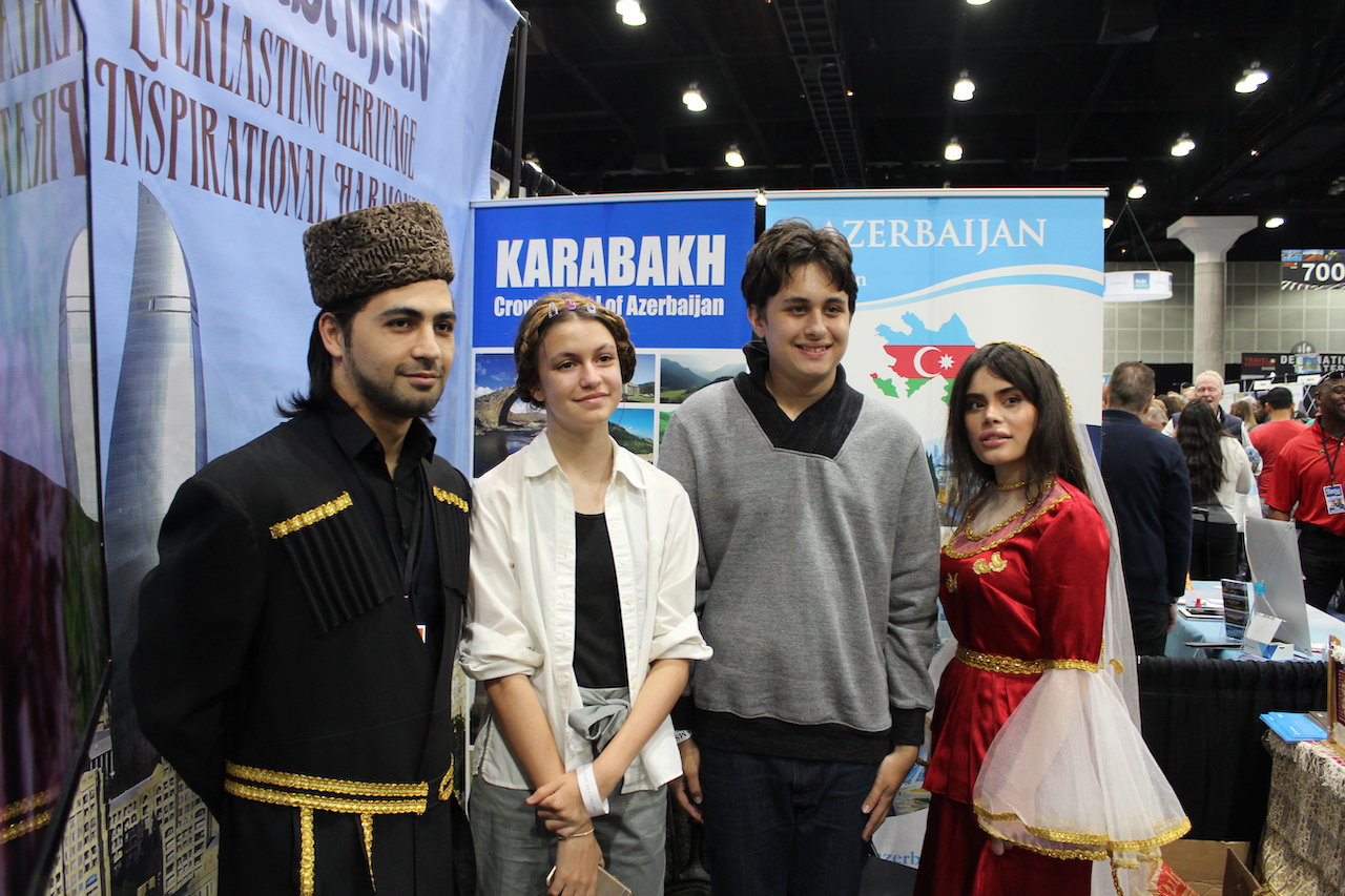 "Azerbaijan featured at the ""Los Angeles Travel & Adventure Show"" - [color=red]VİDEO[/color]"