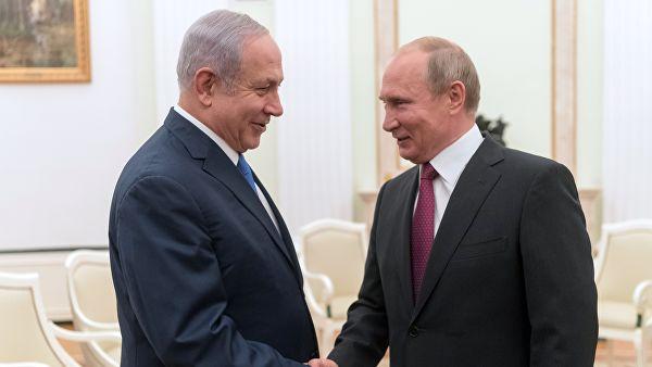 Стала известна тема переговоров Путина с Нетаньяху в Москве
