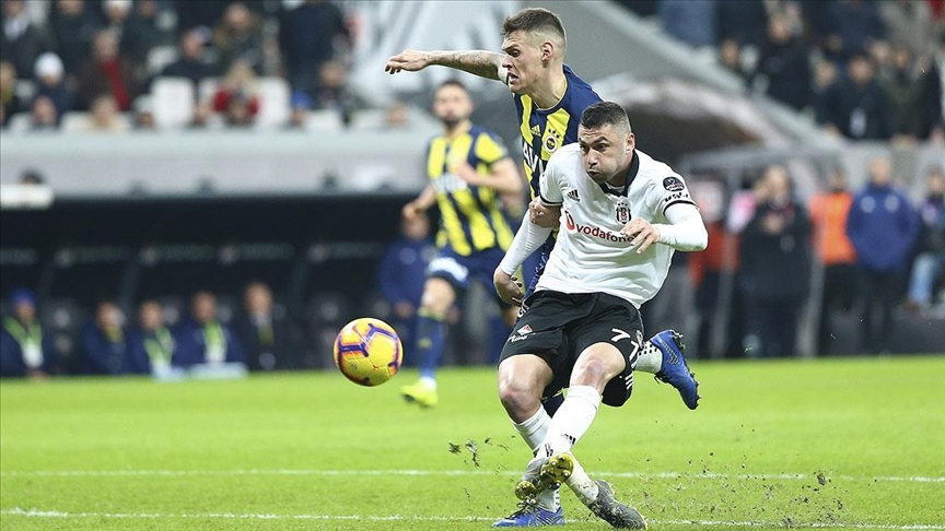 Fenerbahce fight back to get 3-3 draw in Turkish Super Lig derby