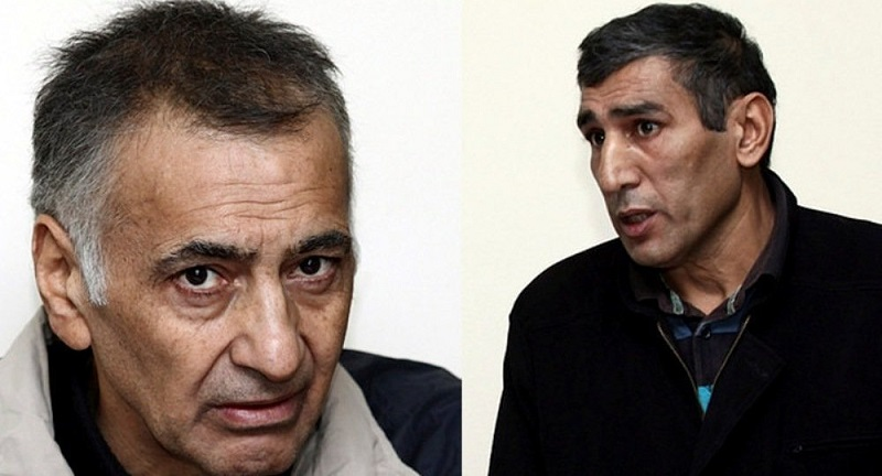 ICRC representatives meet with Dilgam Askerov and Shahbaz Guliyev