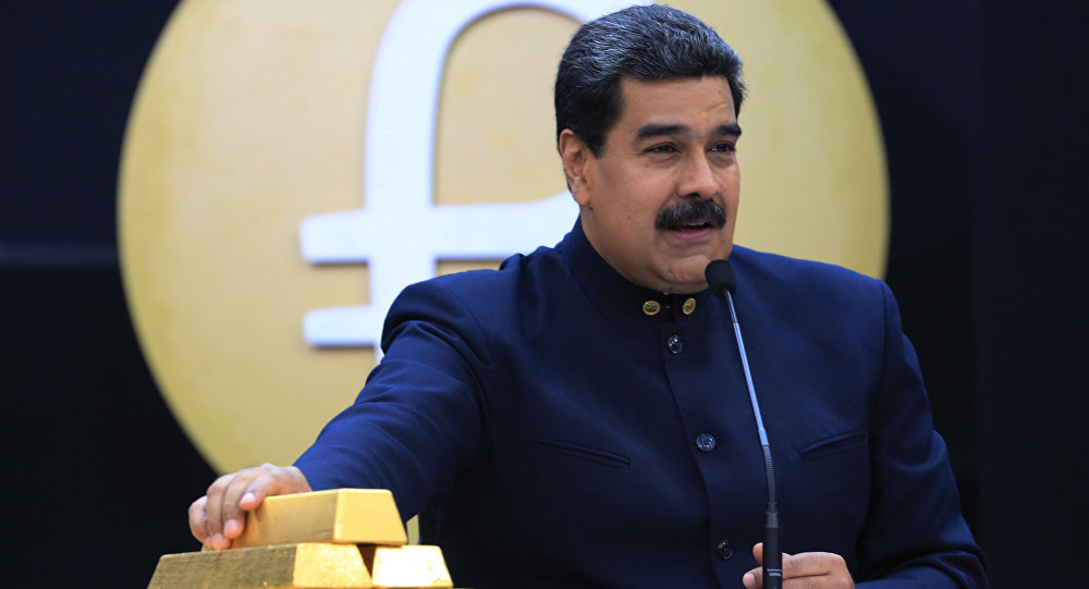 Maduro withdrew 8 tonnes of gold from Venezuela's Central Bank