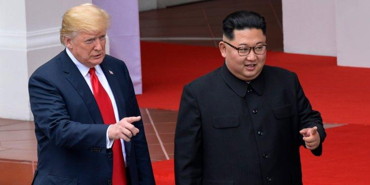 """Tramp: """"Şimali Koreya bütün sanksiyaların aradan qaldırılmasını istədi"""""""