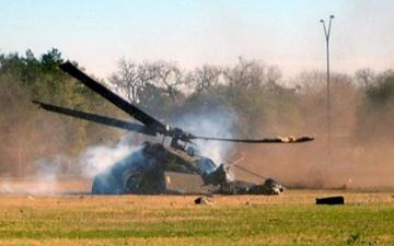 Helicopter crashes in German city of Aerzen, leaves 1 dead