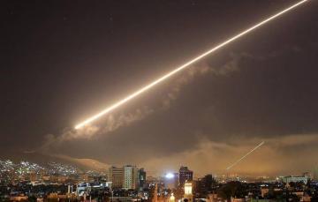 ВВС Израиля нанесли ракетный удар по району Дамаска