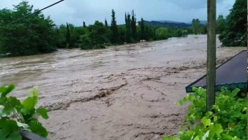 Сильные дожди нанесли ущерб хозяйству в Губе
