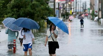 Almost 850,000 Japanese citizens recommended to leave homes over heavy rainfall