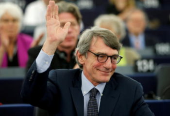 David-Maria Sassoli elected president of the European Parliament