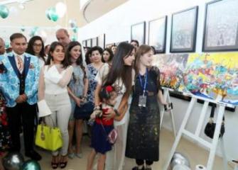 Лейла Алиева посетила выставку «Live Life» - [color=red]ФОТО[/color]