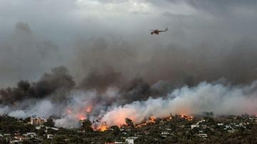 4 more villages evacuated on Greek Evia island over wildfires