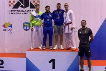 Azərbaycan karateçiləri Xorvatiyada 2 medal qazanıblar