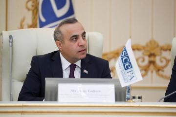 Azay Quliyev yenidən ATƏT PA-nın vitse-prezidenti seçilib