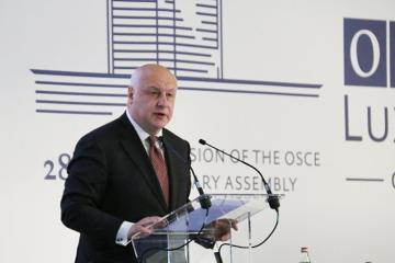 George Tsereteli re-elected as the OSCE PA President
