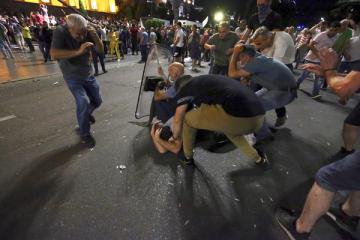 Стало известно о первом пострадавшем в результате столкновений в Грузии