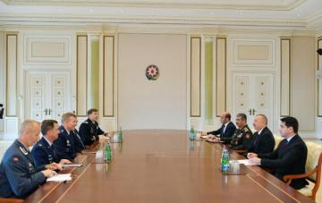 Azerbaijani President receives NATO's Supreme Allied Commander Europe