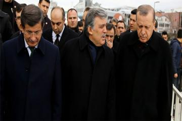 Erdogan: I am offended by Abdullah Gul and Ahmet Davutoglu