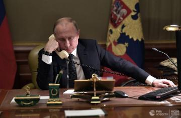 Путин впервые поговорил с Зеленским