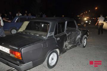 В Ширване женщина совершила ДТП, тяжело ранен 1 человек