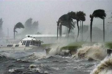 """""""Barri"""" qasırğası ABŞ-ın Luiziana ştatına çatıb"""