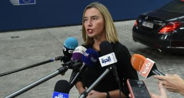 Mogherini: Our solidarity with the Turkish people is not into question at all