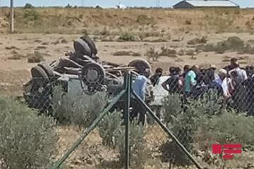 В Аляте перевернулась «Газель», водитель погиб