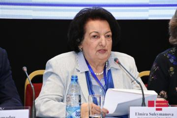 """Elmira Süleymanova: """"Ölkədə boşanmaların sayı kritik vəziyyət alır"""""""