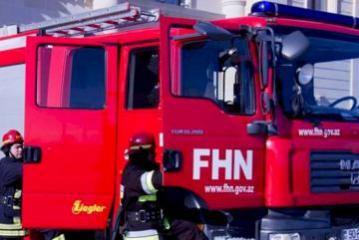В Шамахы сгорел  5-комнатный дом
