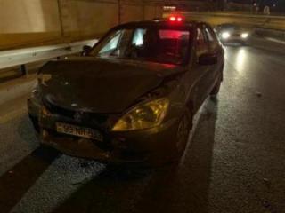 При ДТП в Баку пострадала женщина-водитель  - [color=red]ФОТО[/color] - [color=red]ВИДЕО/color]