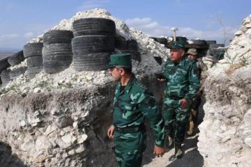Армяне обстреляли пограничный боевой пункт, ранен один солдат