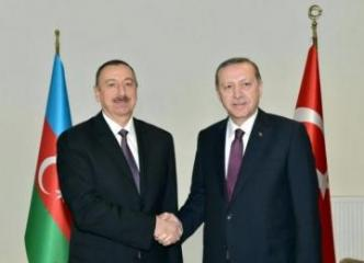 Turkish President Recep Tayyip Erdogan phoned President Ilham Aliyev