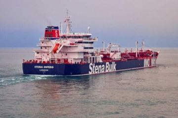 Iran says it seized British tanker, denies U.S. brought down drone