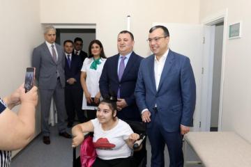 Министр: В регионах Азербайджана будет начато строительство детских реабилитационных центров