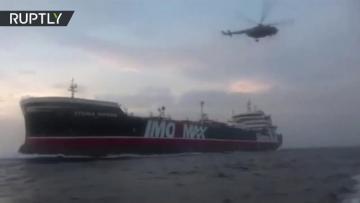 Опубликовано видео задержания Ираном британского танкера - [color=red]ВИДЕО[/color]