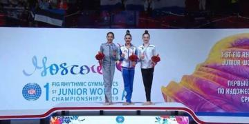 Азербайджанская гимнастка завоевала две медали на ЧМ