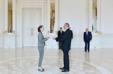 President Ilham Aliyev received credentials of ambassadors of 4 countries  - [color=red]PHOTOSESSION[/color]