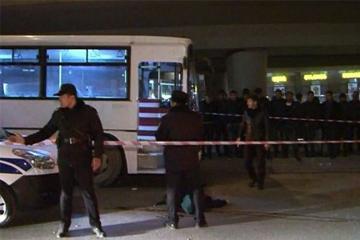 Пассажирский автобус сбил ребенка в Баку
