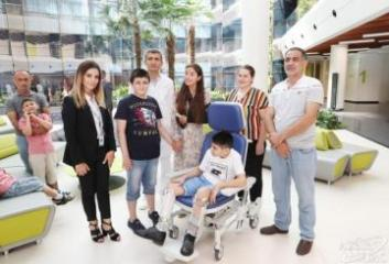 Лейла Алиева встретилась с детьми, лечащимися в Международном госпитале Bona Dea - [color=red]ФОТО[/color]