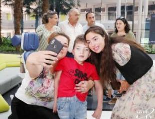 Leyla Əliyeva Bona Dea Beynəlxalq Hospitalında müalicə olunan uşaqlarla görüşüb - [color=red]FOTO[/color]